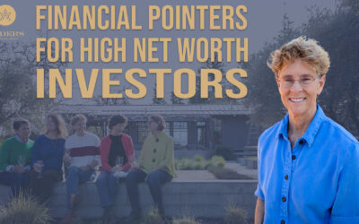 Financial Pointers for High Net Worth Investors